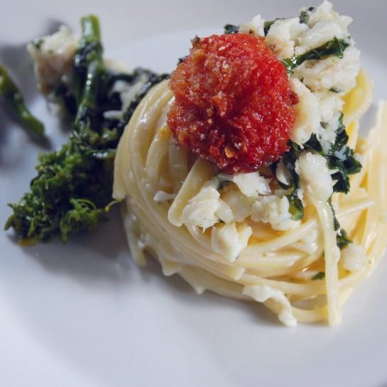 spaghetti merluzzo