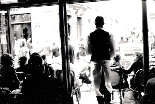 Flickr-Dolarz-Paris-Cafe-Waiter-BW1